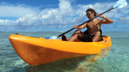 Kayak, Snorkel, & Spa Adventure by Marianas Trekking