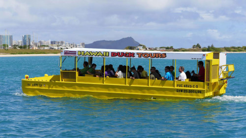 USS Missouri & Honolulu City Duck Tour