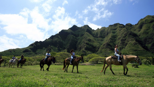 Kualoa Ranch Scenic Valley Horseback Ride