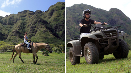 Horseback & ATV Combo at Kualoa Ranch