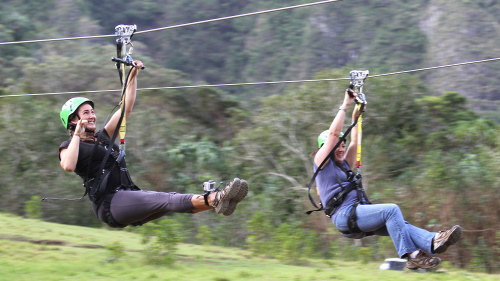 Kualoa Ranch Zip & Dip Adventure