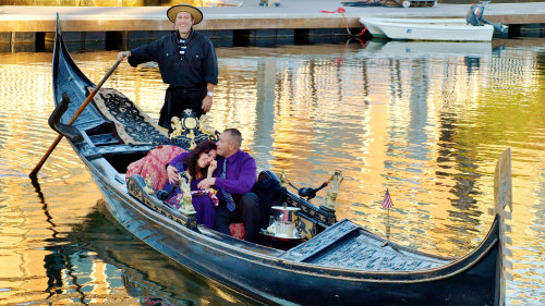 Classic Newport Harbor Canal Cruise by Gondola Adventures