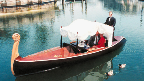 Newport Harbor Canal Cruise with Appetizers by Gondola Adventures