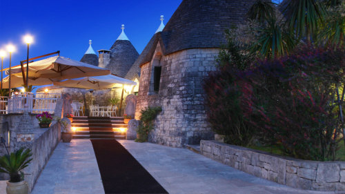 Romantic Getaway to Alberobello with Massage & Dinner
