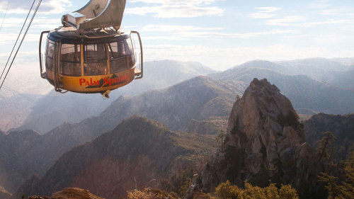 Aerial Tramway Ride & Mt San Jacinto State Park