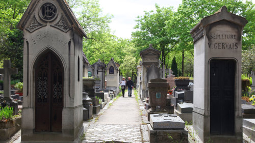 Famous Graves of the Père Lachaise Cemetery