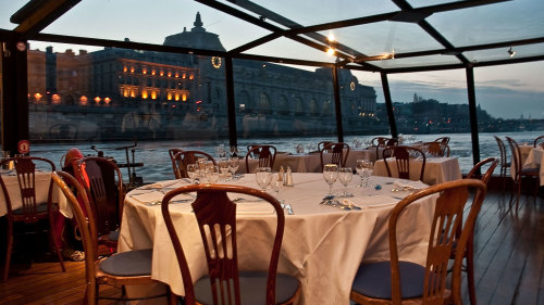 Early Evening Dinner Cruise on the River Seine by La Marina de Paris