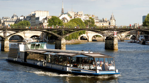 Lunch Cruise on the River Seine by La Marina de Paris