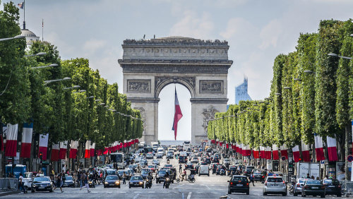 Private Arc De Triomphe Summit Access & Champs-Élysées Highlights Tour