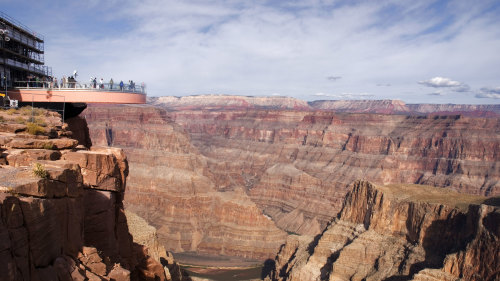 Grand Canyon West Rim Bus Tour by SWEETours