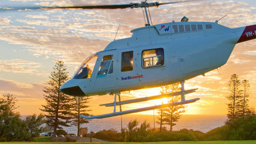 Fremantle Helicopter Flight by Heliwest