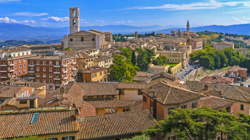 Perugia Walking Tour