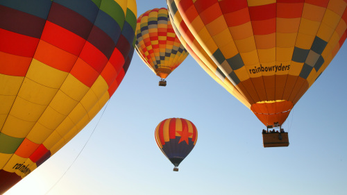 Rainbow Ryders: Hot Air Balloon Ride