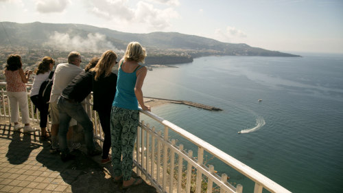 VIP Pompeii & Sorrento Full-Day Tour by High-Speed Train