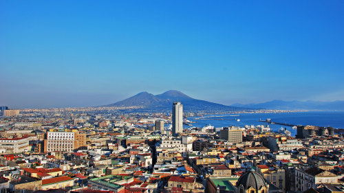 Shore Excursion: Pompeii & Naples Tour
