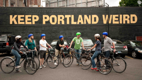 Historic Downtown Cycling Tour