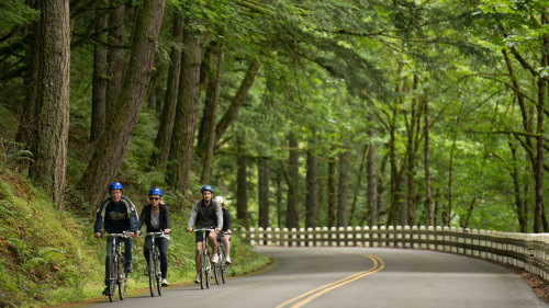 Columbia River Gorge Bike Tour