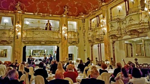 Mozart Concert with 3-Course Dinner
