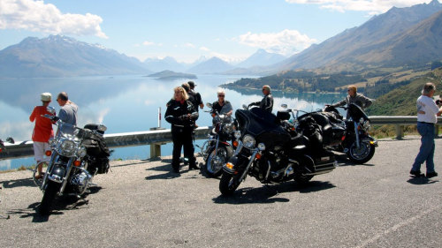 Harley Davidson Chauffeured West Coast Tour