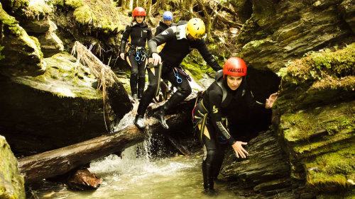 Earnslaw Canyoning Adventure with Helicopter Ride