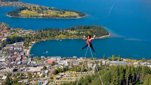 Ledge Swing Experience by AJ Hackett Bungy Queenstown