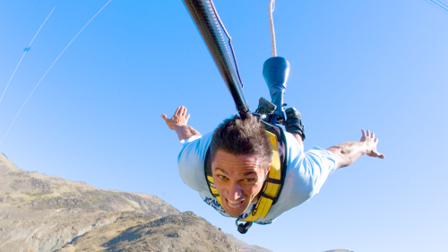 Nevis Bungee Jump by AJ Hackett Bungy Queenstown