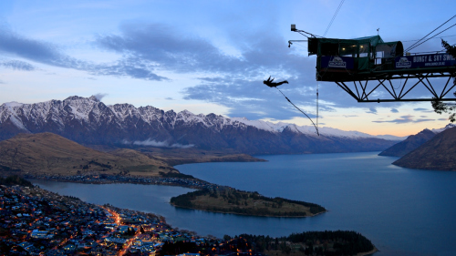 The Ledge Bungee Jump by AJ Hackett Bungy Queenstown