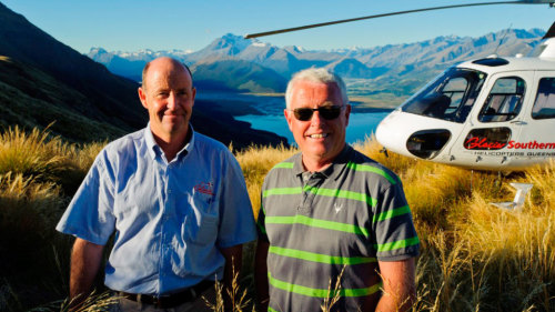 Scenic Helicopter Flight with Snow Landing by Glacier Southern Lakes Helicopters
