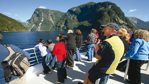 Doubtful Sound Cruise by Real Journeys