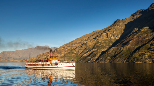 TSS Earnslaw Cruise on Lake Wakatipu by Real Journeys