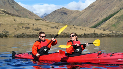 Guided Kayak Tour by Queenstown Sea Kayaks