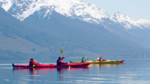 Lake Wakatipu Sunset Kayak with Dinner by Rippled Earth Kayaks