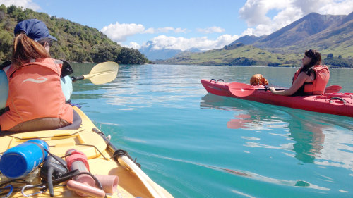 Glenorchy Islands Kayak Tour by Rippled Earth Kayaks
