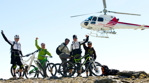 The Remarkables Heli Tour Bike Ride by Vertigo Bikes