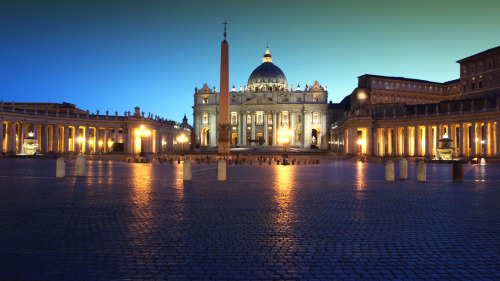 Vatican Museums After Sunset