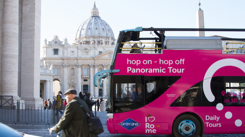 Panoramic Bus Tour by Grayline Rome - I Love Rome