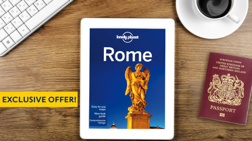 Get a Lonely Planet Rome City Guide eBook with all Rome 'Things to Do'