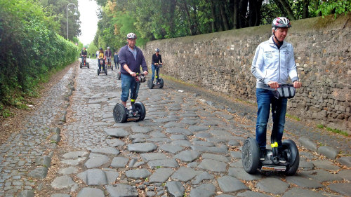 Ancient Appian Way Sunday Segway Tour with Lunch by Rome by Segway