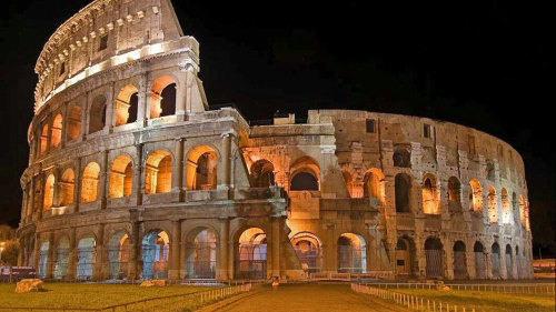 Colosseum Underground & Arena by Night by Gray Line Rome