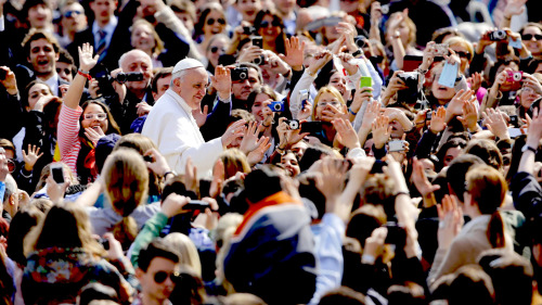 Papal Audience With Pope Francis I