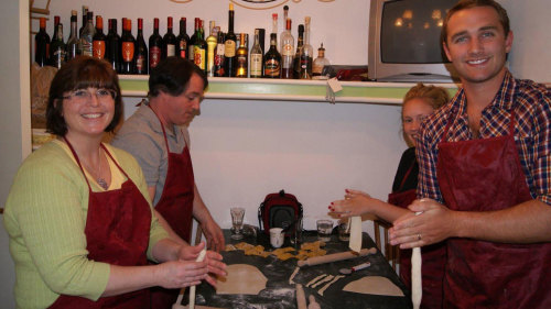 Small-Group Cooking Class in the Roman Countryside