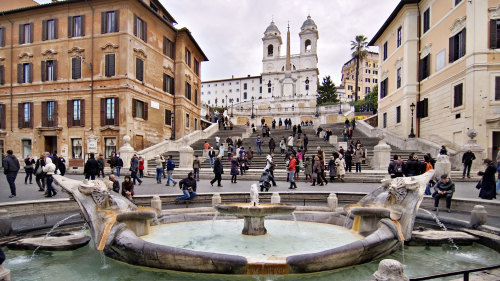 Shore Excursion: Rome Highlights Walking Tour