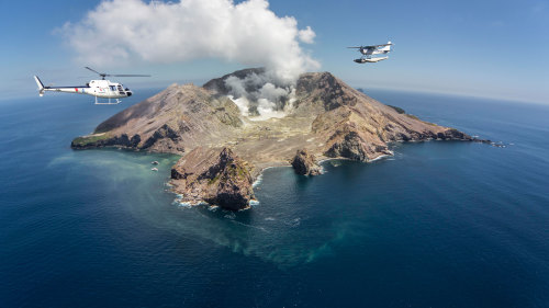 Scenic Helicopter & White Island Tour