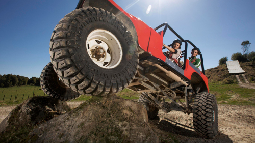 Off-Road Monster 4x4 Thrill Ride