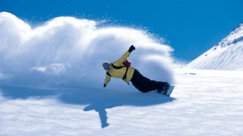 Snow Basin & Powder Mountain Snowboard Rental Package