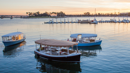 18 Snug Harbor Self-Guided Electric Boat Cruise by Duffy of San Diego