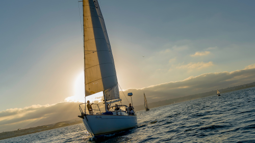 Sunset Sail by San Diego Sailing Tours