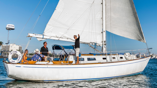 Private Sailboat Cruise for Couple by San Diego Sailing Tours