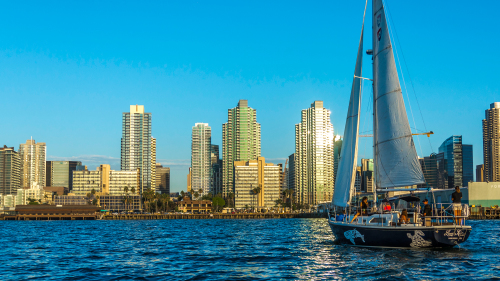 Private Group Sailboat Cruise by San Diego Sailing Tours