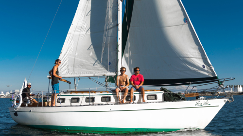 Private Full-Day Sailboat Charter by San Diego Sailing Tours